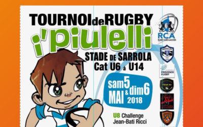 """Rendez-vous au tournoi de Rugby """"I Piulelli"""" à Ajaccio"""
