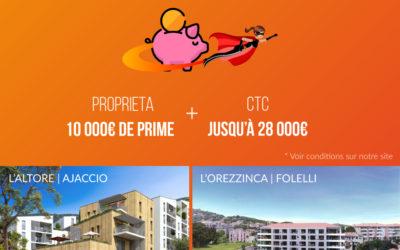 Obtenez une aide au logement de la CTC jusqu'à 28 000€ !